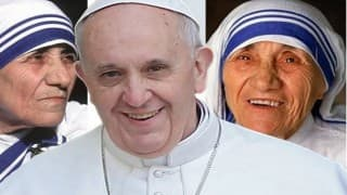 LIVE Mother Teresa Canonization: Pope Francis proclaims Mother Teresa a Saint at St. Peter's Square in Vatican City