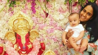Salman Khan Ganesh Darshan: Little Ahil Sharma, celebs gather at Bollywood superstar's house to celebrate Ganesh Festival 2016