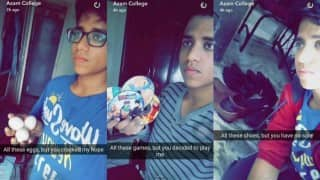 Epic way to deal with heartbreak! This guy's relationship Snapchat story is hilarious
