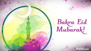 Eid Mubarak 2016: 10 Best Bakra Eid Mubarak Greetings to wish Happy Eid-ul-Adha