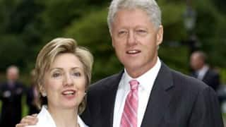Hillary Hillary says Bill Clinton should not have to step down from Foundation