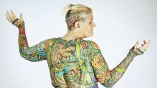 67-yr-old US woman sets Guinness record for most body tattoos