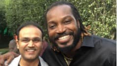 Chris Gayle outwits Virender Sehwag; here is how and when!