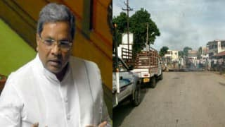 Karnataka Bandh: Massive protest in Mandya over Cauvery water release, bus services suspended
