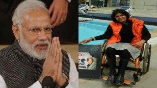 प्रधानमंत्री नरेंद्र मोदी ने रजत पदक जीतने पर दीपा मलिक को दी बधाई