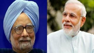 Prime Minister Narendra Modi greets Manmohan Singh on birthday