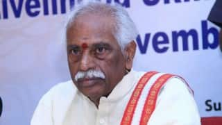 Bandaru Dattatreya blames previous UPA government for woes of trade unions