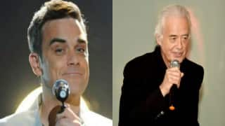 Robbie Williams wins battle against Jimmy Page