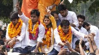 DU छात्रसंघ चुनाव: ABVP ने फिर लहराया परचम, अध्यक्ष समेत तीन सीटों पर कब्जा