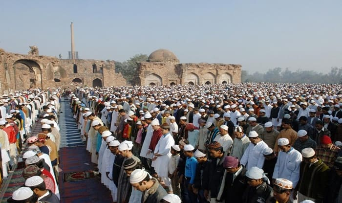 Eid celebrated with fervour in Delhi