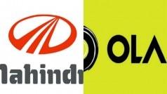 Mahindra and Ola to drive entrepreneurship and smart mobility across…