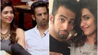 Bigg Boss 9 contestant Karishma Tanna spotted fighting and crying with ex-beau Upen Patel; here's WHY?