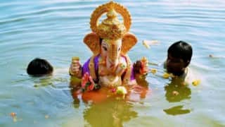 Mumbai's Ganesh immersion procession concludes