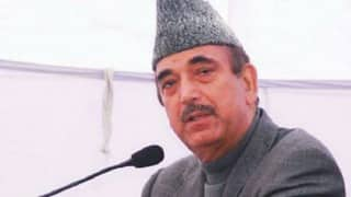 Separatists should not choose to meet only Pakistan High Commissioner: Ghulam Nabi Azad