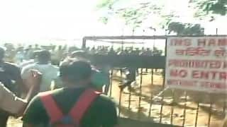 INS Hamla hit by a stampede as recruitment drive goes awry