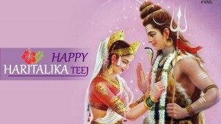 Happy Hartalika Teej 2016: Shlokas& Maha mantra's to seek divine blessings from Lord Shiva and Goddess Parvati!