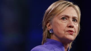 Democrat Hillary Clinton raised a record 143 million Dollars in August for her presidential campaign