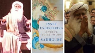 Sadhguru launches book 'Inner Engineering' in New York: an evening filled with laughter, joy