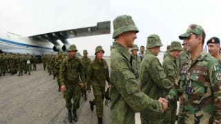 Russian troops arrive in Pakistan for first-ever joint drills