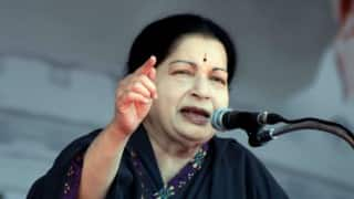 Work for AIADMK's win in civic polls, Jayalalithaa tells party workers