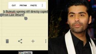 AIB takes hilarious dig at Pritam copying music of Ae Dil Hai Mushki'ls 'Bulleya' but Karan Johar is not amused