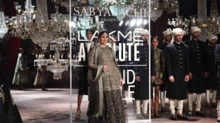 The 5 Most Dazzling Looks From Lakme Fashion Week 2016