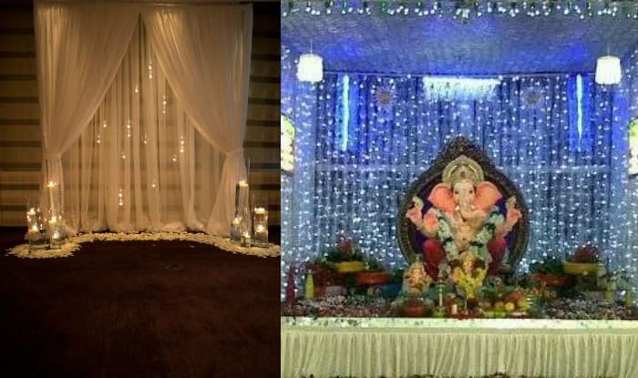 Ganesh chaturthi 2016 simple yet insanely beautiful for Decoration ganpati