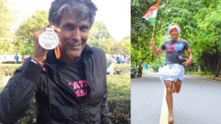 Berlin Marathon: Milind Soman sets new record running 42.2 Km in 4 hours and 32 minutes!