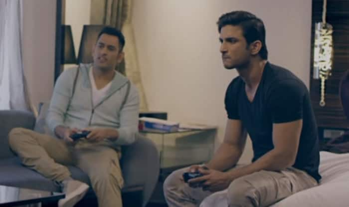From captain cool to captain curious; MS Dhoni has some questions for Sushant Singh Rajput, watch video