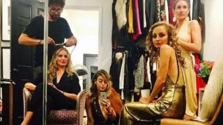 Nicole Richie's disco-themed 35th birthday bash