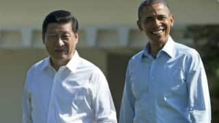 United States and China expected to join in a historical climate deal during President Barack Obama visit