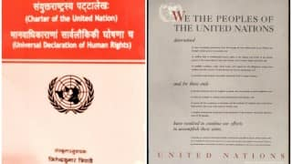 United Nations charter can now be read in Sanskrit