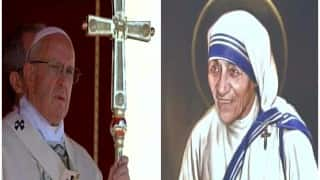 Mother Teresa now turns 'Saint Teresa of Calcutta', attains sainthood after canonisation ceremony in Vatican