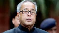 Pranab Mukherjee calls for joint action for 100 per cent…