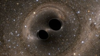 Gravitational waves form 10 million years after black holes merge