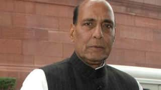 Rajnath Singh reviews Kashmir situation