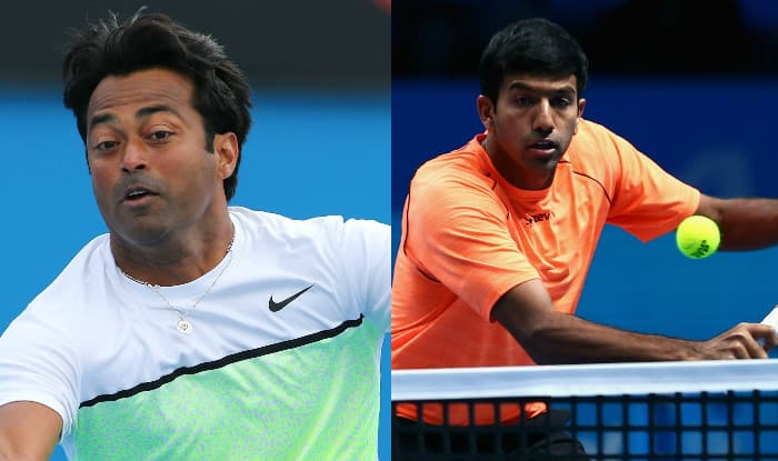 Image result for US Open: Paes, Bopanna beaten in men's doubles