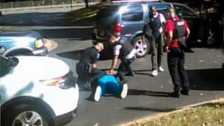 Charlotte police release video of black man Keith Lamont Scott's fatal shooting