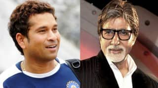 Government launches Swachh Bharat Mission media campaign featuring Amitabh Bachchan, Sachin Tendulkar