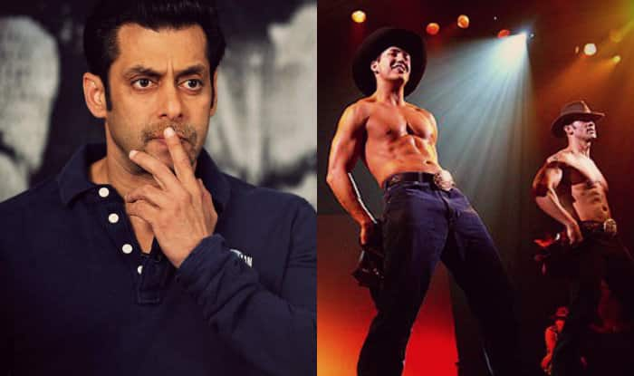 salman khan striptease