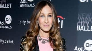 Sex and the City star Sarah Jessica Parker's family cuts toenails together