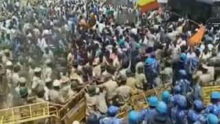 Cauvery row: 1 more dies of injuries while escaping lathicharge; toll now 2