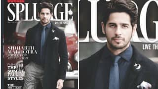 IMPRESSIVE! Sidharth Malhotra's formal avatar on Outlook Splurge cover is a complete treat