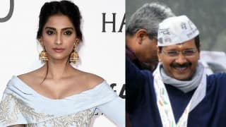 Do watch this 'awesome film' on Arvind Kejriwal recommended by Sonam Kapoor herself