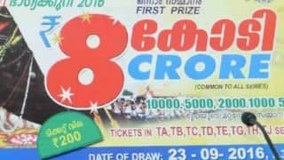 Onam bumper lottery result 2016 declared: OMG! See the lucky ticket number that won Rs 8 crore