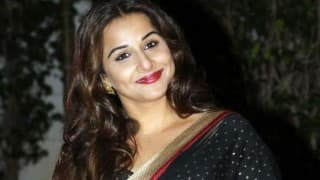 Kahaani 2 actress Vidya Balan down with dengue