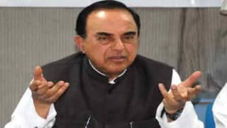 Subramanian Swamy writes to Narendra Modi,opposes Finance Ministry granting Rs 300 crore to GSTN