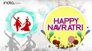 Happy Navratri Wishes: 20 Best WhatsApp Status, Facebook Messages, SMS, Images & DP to Wish Happy Navratri 2016