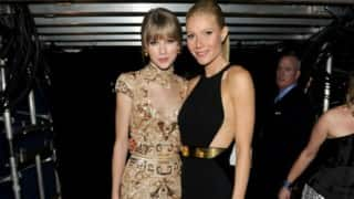 Taylor Swift dances with Gwyneth Paltrow