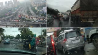 Mumbai crawls as heavy rain continues to disrupt normal life, traffic worst hit due to water-logging